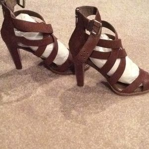 BCBGIRLS, Brown leather, 9m